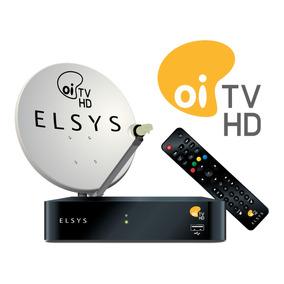 Kit Oi Tv Livre Hd (com Antena)