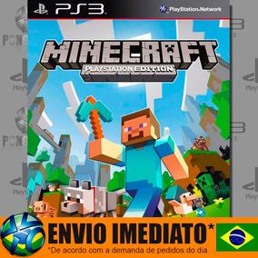 Minecraft - Ps3 - Código Psn - Dublado Português - Promoção