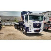 Caminhão 24280 2015 Munck Phd 45 Novo Barato