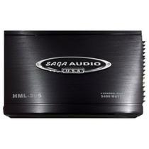 Amplificador Saga Audio Hml-305 4ch 2400w Potente Economica