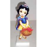 6 Display Princesas Baby Centro Mesa Enfeite Festa Infantil