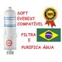 Elemento Filtrante Vela Filtro Purificador Água Soft Everest