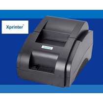 Mini Printer Térmica 58mm Xprinter Libre De Mantenimiento