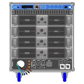 Proel Amplificador Rack Lineal Axiom Modelo Axrackm3