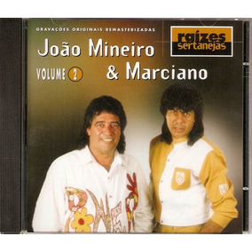 Cd João Mineiro & Marciano - Raízes Sertanejas 2 - Novo***