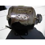 Motor Ariston 220 V-1/4 Hp-1400 Rpm-polea-garantia-$1495