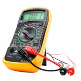 Multimetro Tester Digital Corriente Xl 830l + Base + Pila 9v