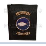 Carteira Juiz De Paz Evangélico Super Luxo B01