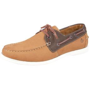 Dockside Shoes Grand Mocassim De Couro Tamanho Grande