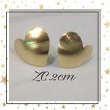Zarcillos Orfebreria Caldos Bañados En Oro 18 K