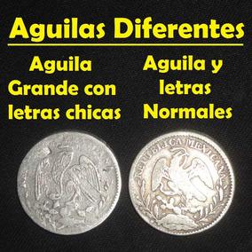 Moneda 1 Real 1856 Go Variedad Letras Chicas, Aguila Grande
