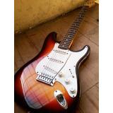 Fender Squier Strat Stratocaster Sunburst Canje Envio Tarj!