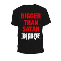 Remera Justin Bieber Purpose Bigger Than Satan