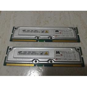Memória Rimm Rambus Samsung 2x256gb (512 Mb) Pc 1066-32p