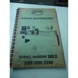 Manual Torno Nardini 300 Ii
