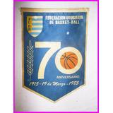 Banderin Basketball F U B B 70 Aniversario Megusta_melollevo