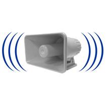 Sirena Inalambrica Tipo Corneta 120 Db. Alarma Hogar Vecinal