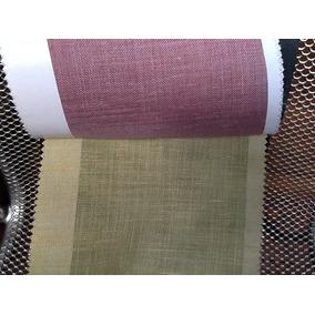 Tela De Cortineria Importada Darcy A/320 Cms Colores Varios