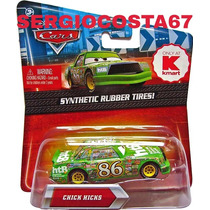 Disney Cars Chick Hicks Synthetic Pneu Borracha Raro Frete B