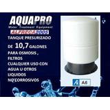 Tanque A6 Presurizado 10,7 Galones Osmosis Filtros De Agua