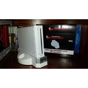 Base Nintendo Wii !com Cooler ,carregador De Pilha ..oferta!
