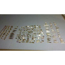 Lote De Topázio Imperial Natural Muiti Formato 216 Pedras