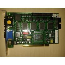 Placa De Captura Dvr 16 Câmeras 4 Áudio Geovision Gv800