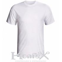 Kit C/ 5 Camisetas Infantil Para Sublimação (100% Poliéster)