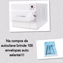 Autoclave Odontológica Digital Extra 21 Litros Inox Stermax