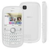 Celular Nokia Asha 200 Com Dual Chip, Qwerty, Camera 2mp, Fm