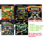 Tartarugas Ninjas Tmnt Movie Para Play 2 (kit 5 Jogos Ps2