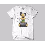 Camiseta Pluto Suspeito Presidiário Cachorro Mickey