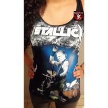 Camiseta Metallica, Ropa Metalera, Rocker, Luna Alterna Shop