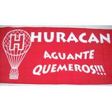 Bandera Fútbol Huracán Aguante Quemeros 75cm X 1,50m
