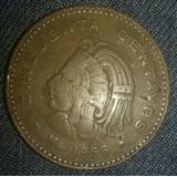 Moneda De Cincuenta Centavos 1956