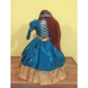 Vestido Disfraz Valiente (mérida) Paquete.