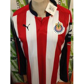 Jersey Chivas Rayadas De Guadalajara Puma 100%original M/l