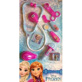 Kit Médico Cartela Frozen Com Seringa 26674 Toyng