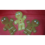 Muñecos De Trapo - Galletitas De Jengibre De Shrek