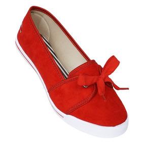 Sapatilha Feminina Varazsa - Sapatos Vermelho em Bahia no Mercado ... 31ee099c2b