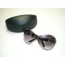 Oculos De Sol Claudia Raia - Original - Todo Em Metal Lindo!