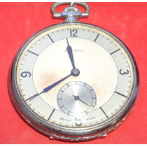 Antiguo Reloj De Bolsillo Condal Con Exhibidor Funcionando