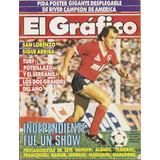 El Gráfico N° 3501. Independiente Fue Un Show. 1986