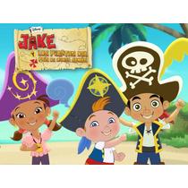 Kit Imprimible 2x1 Jake Y Los Piratas Candy Bar + Cotillon