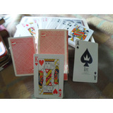 Mazo De Naipes De Poker Marca Ken Publicidad Western Airline