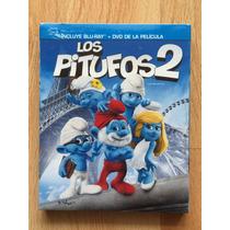Los Pitufos 2 En Blu-ray Y Dvd, Nueva, Original
