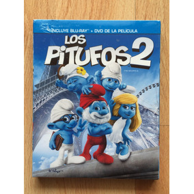 Los Pitufos 2 En Blu-ray Y Dvd, Nueva, Original Envio Gratis