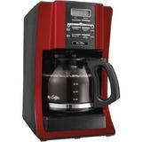 Mr. Coffee 12 Copa Programable Diseño Moderno Con El Frente