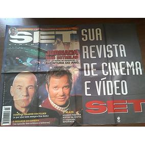 Pôster De Banca Jornada Nas Estrelas Star Trek Revista Set