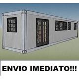 Projeto Manual Construção Casa Container - Envio Imediato